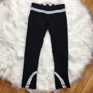 Lululemon Black Crop Capri Leggings Size 4